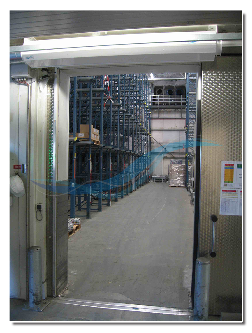 AFIM Air Door - high speed door for cold storage, cold store, freezer (instead of strip curtain)