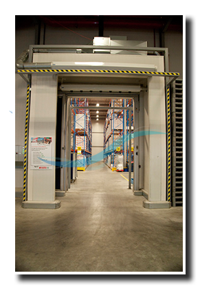 air curtain cold storage distribution centre Spar & Air curtain cold storage distribution centre reference: Spar DC