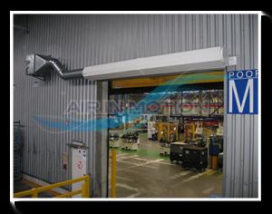 Industrie Luftschleier Lufttür Luftvorhange 2