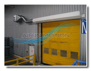 Industrie Luftschleier Lufttür Luftvorhange 3