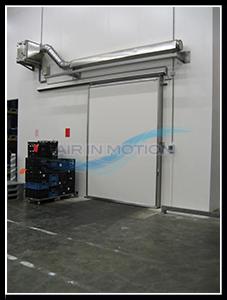 Kühlzellen Luftschleier Lufttür Luftvorhange