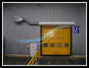 Verwendung AFIM Lufttür Lufttur luftvorhange luftschleier 3