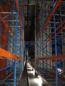 Foto luchtdeur luchtgordijn magazijn tempereerzone