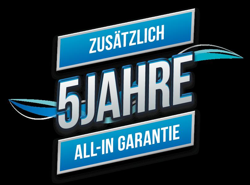 5-Jahres-All-in-Garantie
